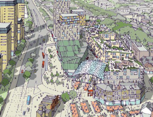 Woolwich plans for tall buildings above and around DLR site